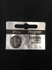 1 FRESH CR1616 Energizer ECR1616 CR 1616 3V Lithium Button Cell Batteries NEW