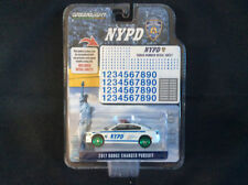 Greenlight 1:64 2017 Dodge Charger NYPD Squad Number Hobby GREEN MACHINE