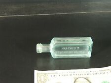 medicine bottle Mathis Toms River, NJ ca. 1890 - dysentery