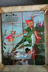 Vintage Disney Peter Pan Picture puzzle