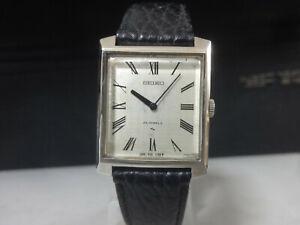 Vintage 1972 SEIKO mechanical dress watch [2220-3030] 24 Jewels 28800bph