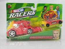 NASCAR Racers Charger Mark McCutchen 204 Car Toy Mobile Pit Launcher 1999 New