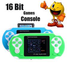 Portable Video Game 16 bit Handheld Game Console + 150 Games Retro Megadrive PXP