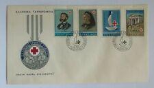 Fdc Red Cross Centenary 9/16/1963