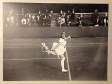 PHOTO L'EQUIPE 1921 CHAMPIONNAT FRANCE CROIX CATELAN / LENGLEN BAT GOLDING