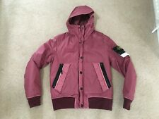 Stone Island Mussola Gommata Jacket in Pink. New with Tags. Size Medium.