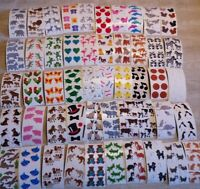 Huge lot Mix 200+ Modules Sheets Vintage 80s 90s Stickers Sandylion Hambly More!