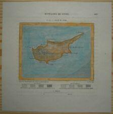 1884 Perron map CYPRUS (#117)