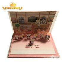 New 3D Pop Up Greeting Card Kitty Cat Cute Valentine Love Anniversary Gift, USA