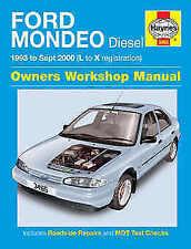 Paper Mondeo 1996 Car Service & Repair Manuals