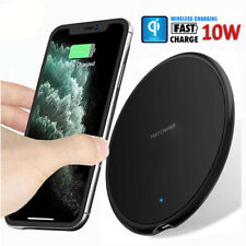 10W Qi Fast Wireless Charger Charging Pad For iPhone 11 Pro Max Galaxy S20 Ultra