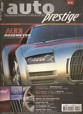 AUTO PRESTIGE 55 2002 AUDI ROSEMEYER CORVETTE 50 C5 BMW M3 CSL Z4 ROAD HUMMER H2