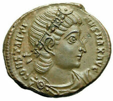 """Constantine I The Great AE17 """"GLORIA EXERCITVS Soldiers"""" Antioch RIC 108 EF"""