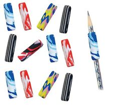 12 Tye Dye Foam Pencil Comfort Grips