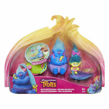 DREAMWORKS Trolls Film-Critter Skitter planches - 2 figures +2 planches-New in Box