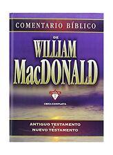 Comentario Biblico: Obra Completa (Antiguo Testamento / Nuevo T... Free Shipping