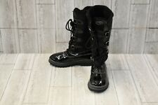 Khombu Farrah Waterproof Winter Boots - Women's Size 6M - Black NEW!