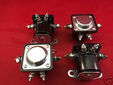 FOUR (4) NEW WINCH SOLENOIDS Solenoid Relay for EARLY WARN MODELS XD9000i 9.5ti