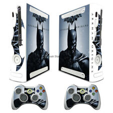 WY89 BATMAN decal Sticker Skin Fit For xbox360 Console + 2 controller Skins