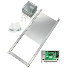 Automatic Chicken Coop Door Opener Kit -Timer + Solar Light, Battery Operated