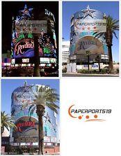 RIVIERA CASINO Vintage Old Las Vegas DAY / NIGHT / CLOSED *3* 8X10 Photo Lot