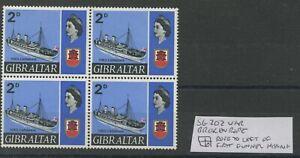 Gibraltar SG202var 1967 Missing rope U/M