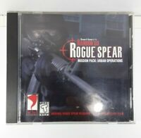 Tom Clancy's Rainbow Six Rogue Spear Mission Pack Urban Operations PC 2000