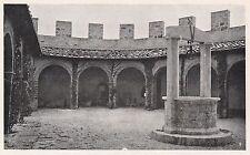 D2170 Castello di Ripa d'Orcia - Cammino di Ronda - Stampa d'epoca - 1923 print