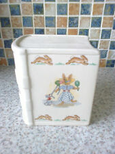 1984 Royal Doulton Bunnykins Money Box w stopper provarsi i cappelli Snowball Lotta