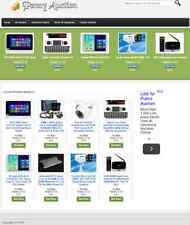 PAY PER BID AUCTION WEBSITE FOR SALE! LOADED with PRODUCTS & DROPSHIPPING SOURCE
