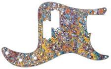 P Bass Precision Pickguard Custom Fender 13 Hole Guitar Pick Guard Rusted Metal