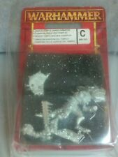 SAURUS TEMPLE GUARD CHAMPION Warhammer Fantasy New Blister 5 or 6TH Edition