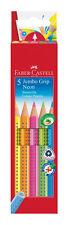 Faber-Castell 110994 Jumbo Grip Neon 5er Kartonetui