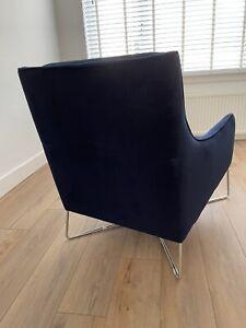 2 X SterlIng Italian Designer               Natuzzi Editions Solaro Armchair