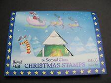 1987 Christmas Folder 36 x 13p stamps