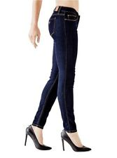 Guess Women's Power Skinny Low Rise Jeans In Silicone Rinse Wash Size 27 RG