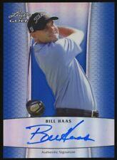 New listing 2011 Leaf Prismatic Blue Golf Bill Haas AUTO 5/10