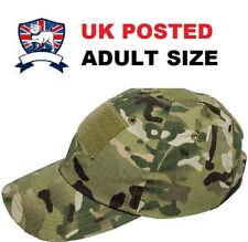 ADULT ARMY BASEBALL CAP HAT MULTICAMO MTP COTTON OPERATORS CAMO BRITISH