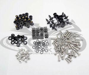 Fairing bolts kit, stainless steel, Honda CBR600RR 2007 08 09 10 11 2012 #BT112#