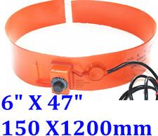 "6"" X 47"" 150 X1200mm 250W Tank Drum Band Barrel JSRGO Heater with Adjust Control"