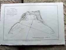 Gráfico Bonthain Bay, las Célebes (Sulawesi), Indonesia. 1785.
