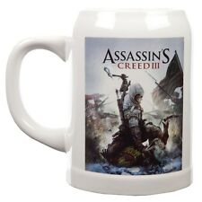 Assassin's Creed III - Cover Art Ceramic Stein