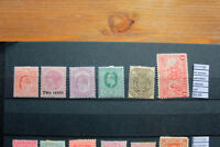LOT STAMPS OLD BRITISH COLONIES MH* (F111728)
