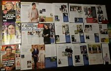 Royal family MEGHAN MARKLE & PRINCE HARRY Magazine CLIPPINGS pack#1