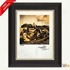 Autumn Cannabalism by Salvador Dali Original Hand Signed Print with COA