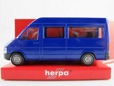 Herpa 043250 VW LT2 Bus (1996-2006) in ultramarinblau 1:87/H0 NEU/OVP