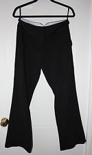 LADIES ATMOSPHERE BLACK WIDE LEG FORMAL TROUSERS SIZE 12 USED