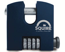 Squire SHCB65 stronghold heavy duty 4 wheel recodeable combination padlock