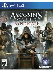 Assassin's Creed Syndicate W/Case Sony Playstation 4 PS PS4 Game Assassins