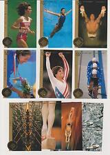 RARE 1996 UPPER DECK OLYMPIC LOOSS MAGICAL IMAGES (20) CARD DIE-CUT INSERT SET